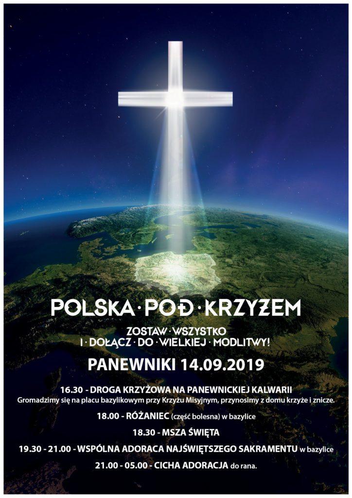 POLSKA_pod_Krzyzem_Plakat_Panewniki